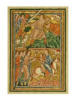 An Angel Halts Abraham's Sacrifice of Isaac Fine-Art Print