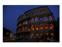 Colosseum at Night Fine-Art Print