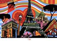 Paris l'amour Fine-Art Print