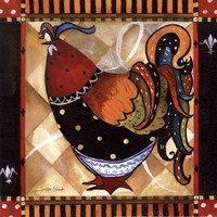 Tuscan Rooster Sq II Fine-Art Print