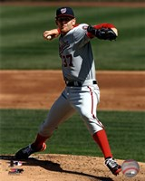 Stephen Strasburg 2012 pitching Fine-Art Print