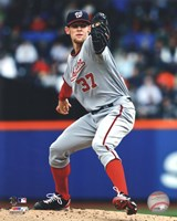 Stephen Strasburg 2012 Action Fine-Art Print