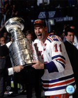 Mark Messier 1993-94 Stanley Cup Celebration Fine-Art Print