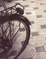 La Bicyclette III Fine-Art Print