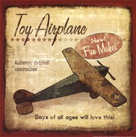 Toy Airplane Fine-Art Print
