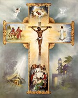 The Living Cross Fine-Art Print