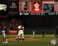 Matt Cain throws a Perfect Game AT&T Park June 13, 2012 Fine-Art Print