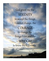 Serenity Prayer - skies Fine-Art Print