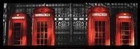 Red Telephone Boxes, London Fine-Art Print