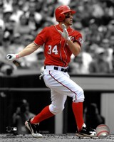 Bryce Harper 2012 Spotlight Action Fine-Art Print