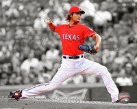 Yu Darvish 2012 Spotlight Action Fine-Art Print