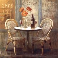 Meet Me at Le Cafe I Fine-Art Print