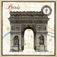 Monuments des Paris Arc Fine-Art Print