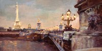 Parisian Evening Crop Fine-Art Print