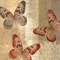 Tropical Butterflies II Fine-Art Print