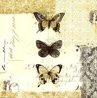 Golden Bees n Butterflies No. 2 Fine-Art Print