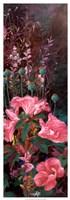 Pink Azalea Garden II Fine-Art Print