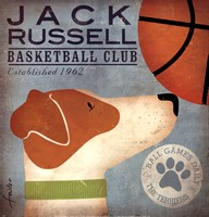 JackRussell Basketball Fine-Art Print