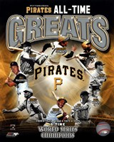 Pittsburgh Pirates All-Time Greats Fine-Art Print