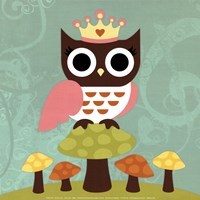 Princess Owl Fine-Art Print