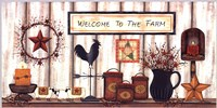 Welcome to the Farm Fine-Art Print