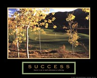 Golf-Success Fine-Art Print