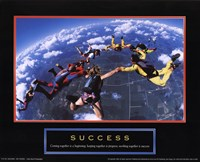Success - Skydivers Fine-Art Print