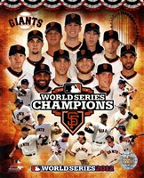 San Francisco Giants 2012 World Series Champions Composite Fine-Art Print