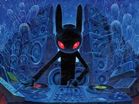 DJ BlackRabbit Fine-Art Print