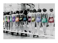 Coney Island Line Up, 1935 Fine-Art Print