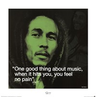 Bob Marley- No Pain Fine-Art Print