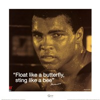 Muhammad Ali- Butterfly Fine-Art Print