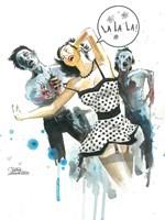 Zombie Love Fine-Art Print