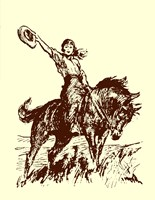 Small Cowgirl Fine-Art Print