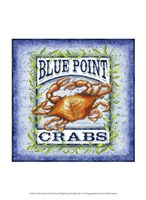Seafood Sign I Fine-Art Print