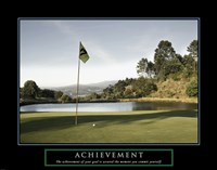 Achievement-Golf Commit Yourself Fine-Art Print