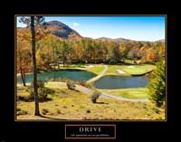 Drive-Golf Fine-Art Print