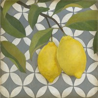 Fruit and Pattern I Fine-Art Print