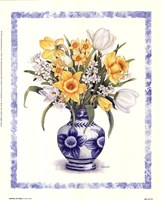 Daffodils and Tulips Fine-Art Print