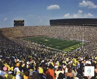 Michigan Stadium University of Michigan Wolverines 2011 Fine-Art Print