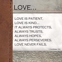 Love is Patient, Love is Kind Fine-Art Print