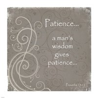 Patience Quote Fine-Art Print