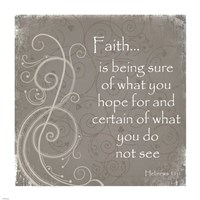 Faith Quote Fine-Art Print