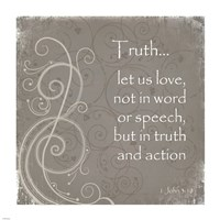 Truth Quote Fine-Art Print