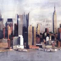 New York Skyline I Fine-Art Print
