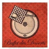 Buffet de Desserts Fine-Art Print