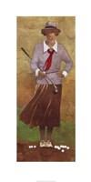 Vintage Woman Golfer Fine-Art Print