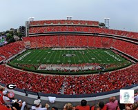 Sanford Stadium Univserity of Georgia Bulldogs 2012 Fine-Art Print
