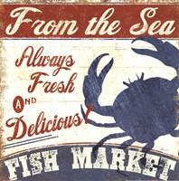 Fresh Seafood IV Fine-Art Print