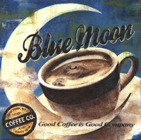 Blue Moon Coffee Fine-Art Print
